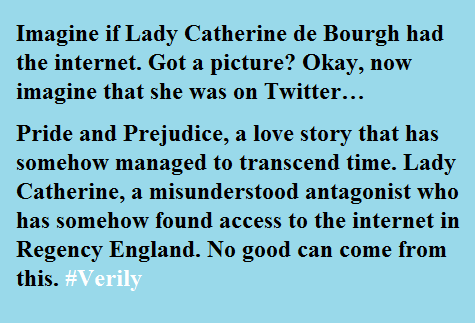 Lady Catherine blurb